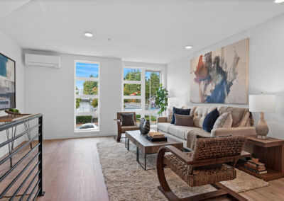 Living Room at 11206 Pinehurst Way NE, One of the Homes in The Pines at Northgate