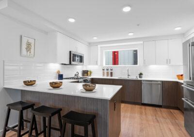 Kitchen at 11206 Pinehurst Way NE