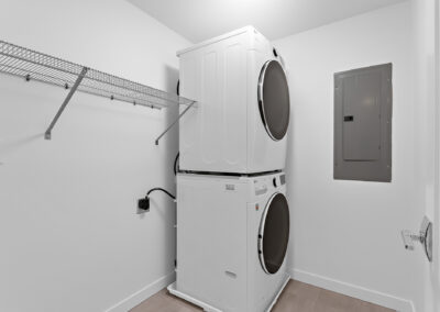 Laundry Room at 11206 Pinehurst Way NE, One of the Homes in The Pines at Northgate